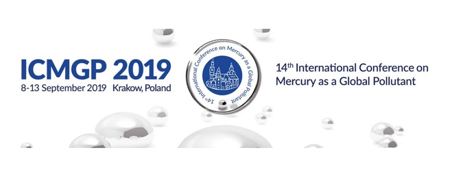 14th International Conference on Mercury as a Global Pollutant | 8-13 September 2019 | Krakow,Poland