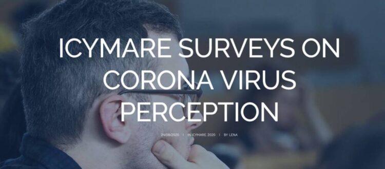 ICYMARE corona survey (c) ICYMARE