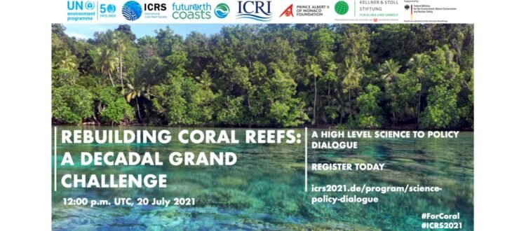 Flyer Rebuilding Coral Reefs: A Decadal Grand Challenge